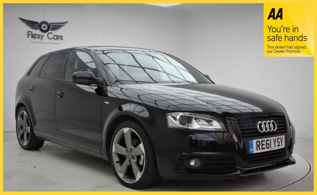 USED 2011 61 AUDI A3 1.8 SPORTBACK TFSI S LINE SPECIAL EDITION 5d 153 BHP