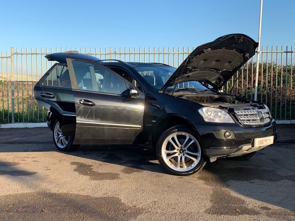USED 2007 07 MERCEDES-BENZ M-CLASS 3.5 ML350 SPORT 5d 269 BHP
