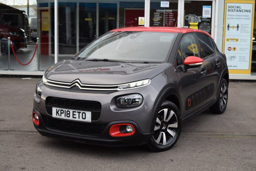 USED 2018 18 CITROEN C3 1.2 PureTech 82 Flair 5dr FINANCE TODAY WITH NO DEPOSIT - SERVICE HISTORY, TWO STAMPS