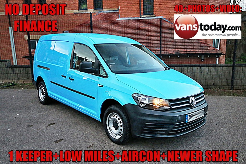 USED 2015 65 VOLKSWAGEN CADDY MAXI 1.6 C20 TDI STARTLINE + NEWER SHAPE + AIR CON + LOW MILES NO DEPOSIT FINANCE + 1 KEEPER + LOW MILES + AIR CON