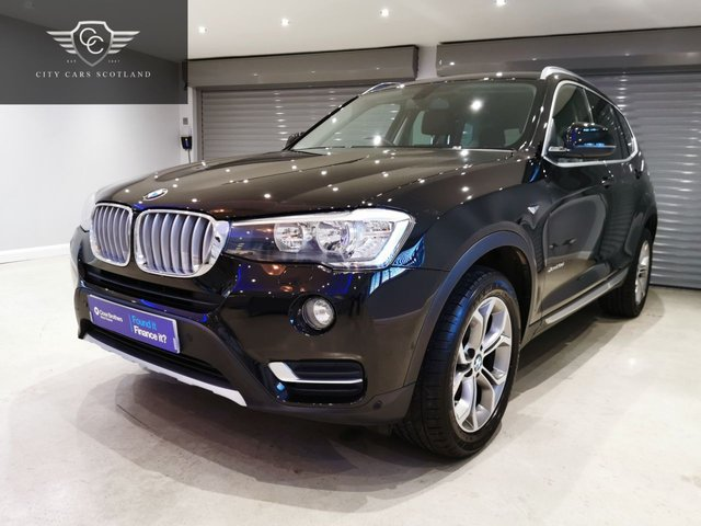 USED 2016 66 BMW X3 2.0 XDRIVE20D XLINE 5d 188 BHP SATELLITE NAVIGATION + HEATED LEATHER SEATS + 1 OWNER