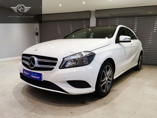 USED 2013 63 MERCEDES-BENZ A-CLASS 1.8 A200 CDI BLUEEFFICIENCY SPORT 5d 136 BHP PANORAMIC GLASS ROOF + SATELLITE NAVIGATION + £30 ROAD TAX