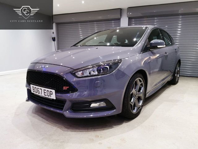 USED 2017 67 FORD FOCUS 2.0 ST-3 TDCI 5d 183 BHP SATELLITE NAVIGATION + HEATED LEATHER RECARO UPHOLSTERY