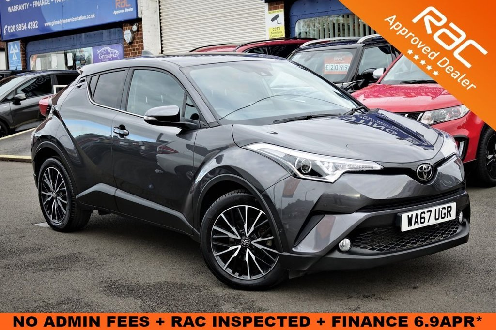 USED 2017 67 TOYOTA CHR 1.2 EXCEL 5d 114 BHP ** RAC BUYSURE INSPECTED **