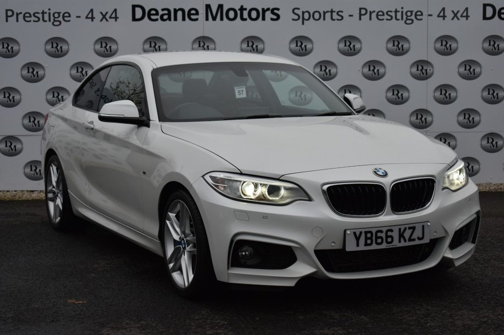 USED 2017 66 BMW 2 SERIES 2.0 225D M SPORT 2d 222 BHP M SPORT PLUS PK