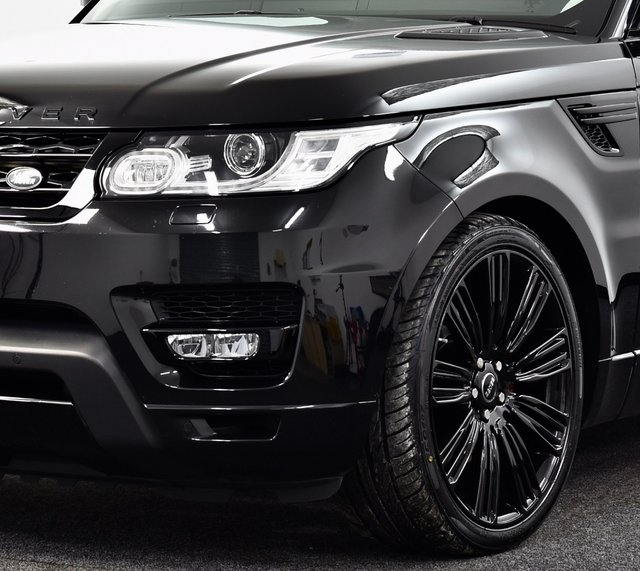 """USED 2017 67 LAND ROVER RANGE ROVER SPORT 2.0 SD4 HSE Auto 4WD (s/s) 5dr £5k Extra's, Stealth Pk, 22""""s"""