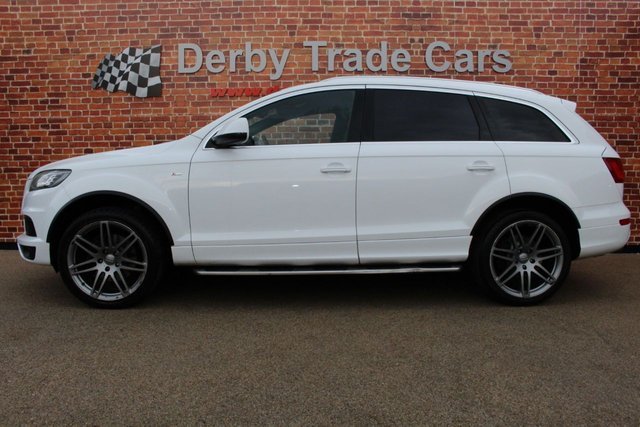 AUDI Q7 at Derby Trade Cars