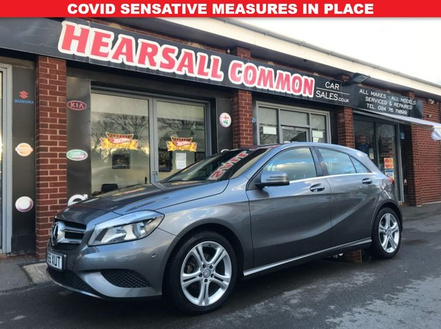 USED 2015 65 MERCEDES-BENZ A-CLASS 1.5 A180 CDI SPORT EDITION 5d 107 BHP