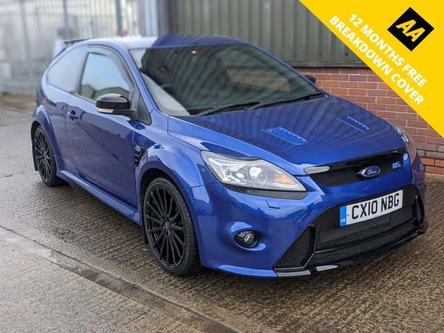 2010 10 FORD FOCUS RS 2.5 RS 3d 300 BHP