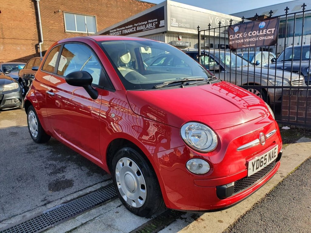 USED 2015 65 FIAT 500 1.2 POP 3d 69 BHP FULL HISTORY + MOT JULY 2021