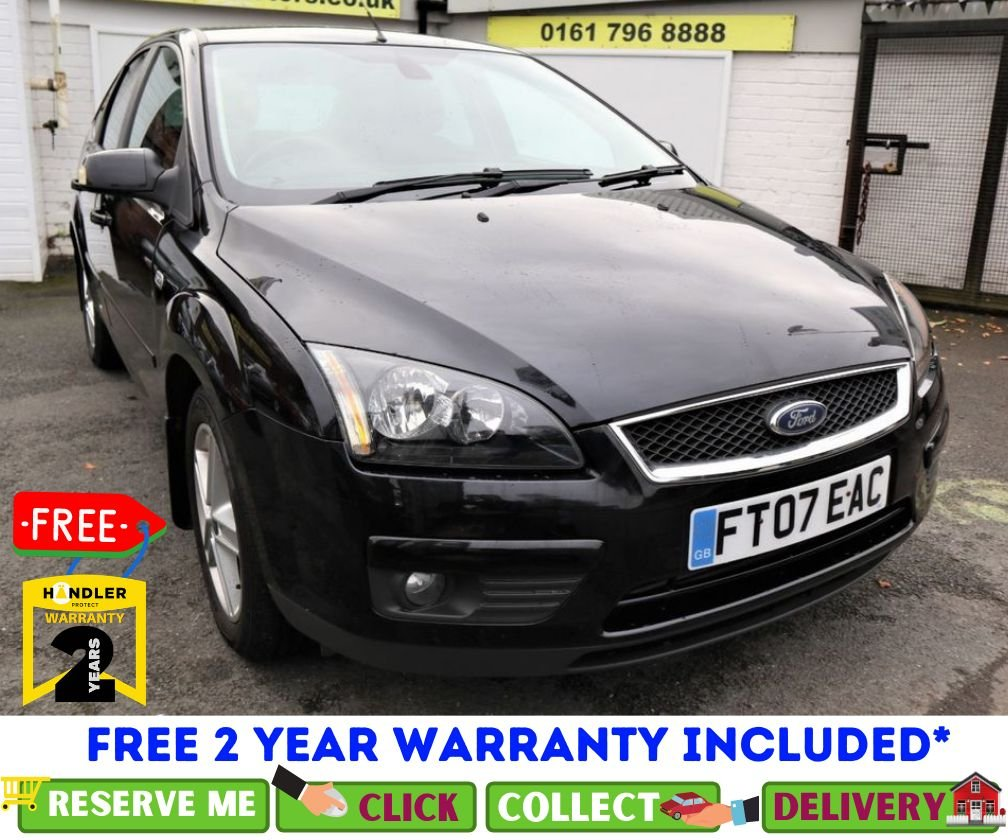 USED 2007 07 FORD FOCUS 2.0 TITANIUM D 5d 136 BHP *CLICK & COLLECT OR DELIVERY