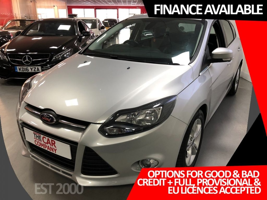 USED 2013 63 FORD FOCUS 1.6 ZETEC TDCI 5d 113 BHP * PARKING SENSORS * DAB RADIO * MOT NOVEMBER 2021 * 5 SERVICES *