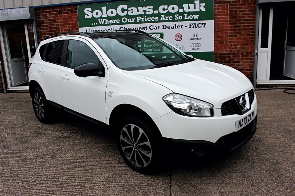 USED 2013 13 NISSAN QASHQAI 1.6 DCI 360 IS 5d 130 BHP +PANORAMIC ROOF +CAMERAS +NAV.