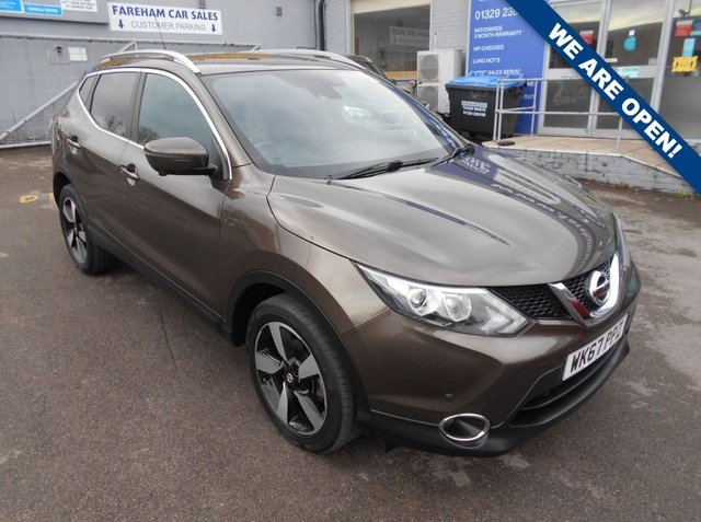 USED 2017 67 NISSAN QASHQAI 1.5 N-VISION DCI 5d 108 BHP CLICK + COLLECT THIS VEHICLE