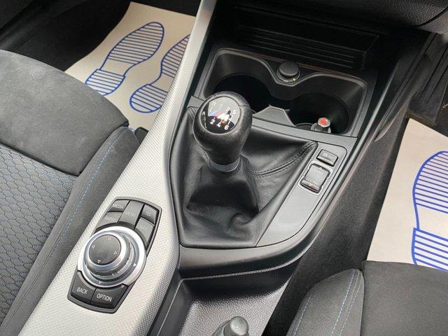 USED 2016 66 BMW 1 SERIES 2.0 118D M SPORT 5d 147 BHP SAT NAV Hexagon cloth