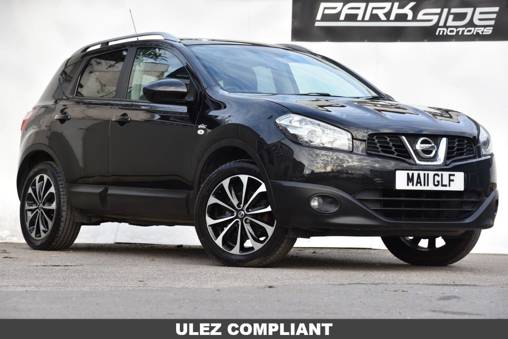 USED 2011 11 NISSAN QASHQAI 1.6 N-TEC 5d 117 BHP Manual | ULEZ Compliant | Full Service History | Panoramic Sun Roof | Reversing Camera | Satellite Navigation | Cruise Control