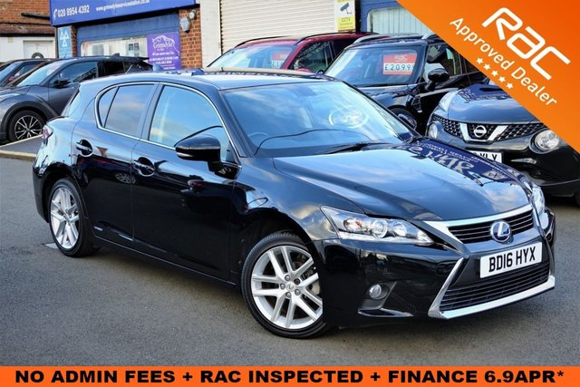 2016 16 LEXUS CT 1.8 200H ADVANCE 5d 134 BHP