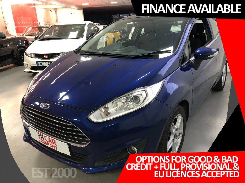 USED 2014 63 FORD FIESTA 1.5 ZETEC TDCI 3d 74 BHP * ALLOY WHEELS * AIR CON * MOT NOVEMBER 2021 * 6 SERVICES *
