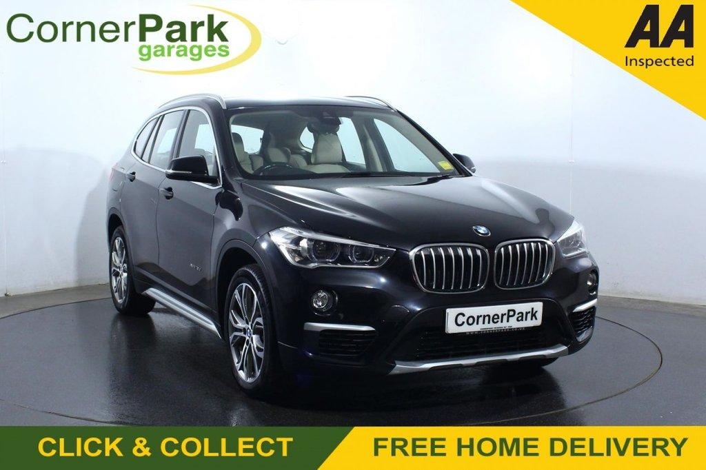 USED 2017 17 BMW X1 2.0 XDRIVE18D XLINE 5d 148 BHP