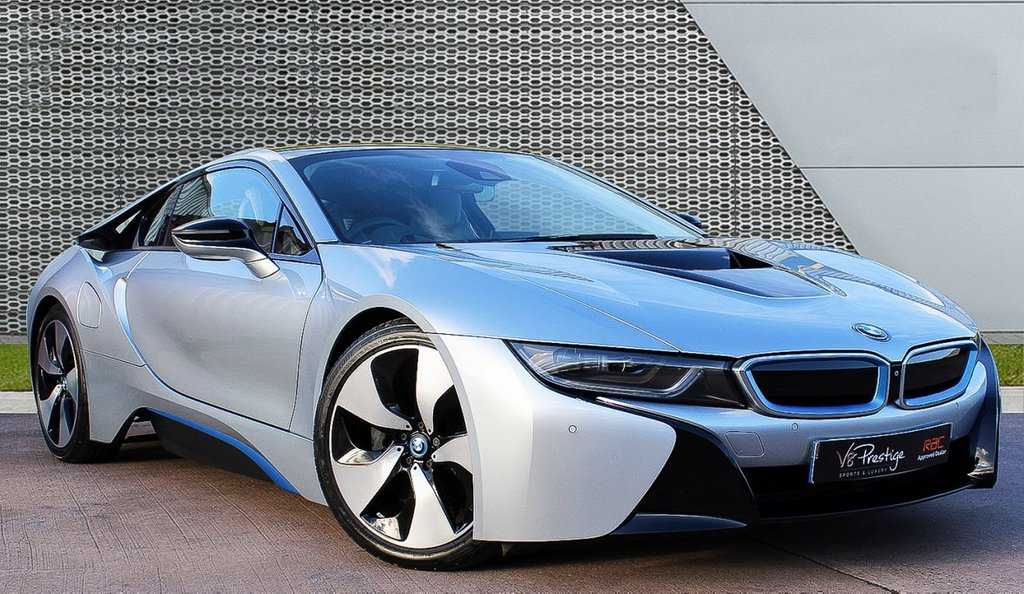 USED 2015 64 BMW I8 1.5 I8 2d 370 BHP *ONE OWNER/JUST SERVICED BY BMW*