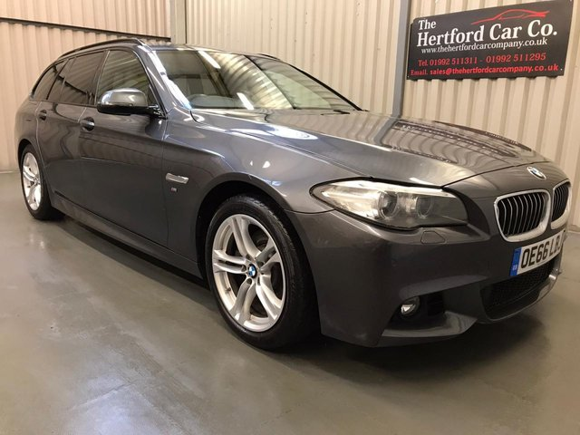 2016 66 BMW 5 SERIES 2.0 520D M SPORT TOURING 5d 188 BHP