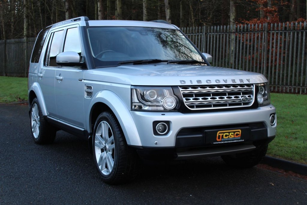 USED 2015 15 LAND ROVER DISCOVERY 3.0 SDV6 HSE LUXURY 5d 255 BHP A STUNNING HIGH SPECIFICATION DISCOVERY 4 WITH LAND ROVER SERVICE HISTORY, 360 DEGREE CAMERAS AND MORE!!!