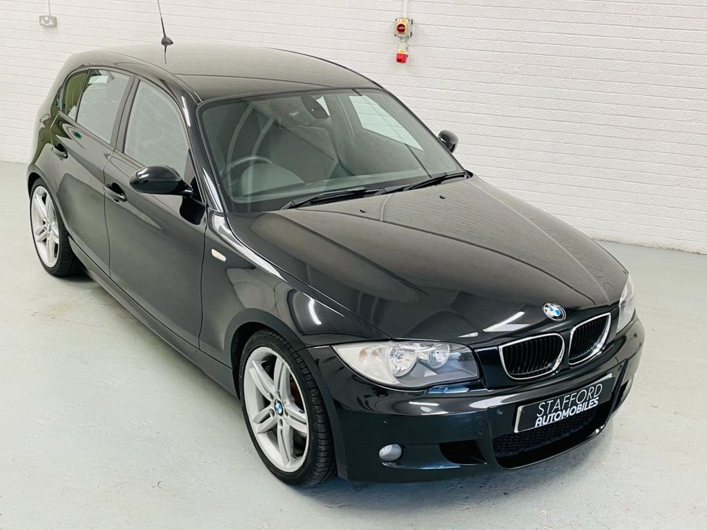 USED 2008 58 BMW 1 SERIES 2.0 118D M SPORT 5d 141 BHP 18IN ALLOYS, PDC, 2 FORMER KEEPERS, FINANCE AVAILABLE