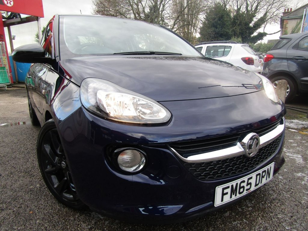 USED 2015 65 VAUXHALL ADAM 1.2 SLAM 3d 69 BHP ECONOMICAL,.IDEAL FIRST TIME CAR WITH LOW INSURANCE.