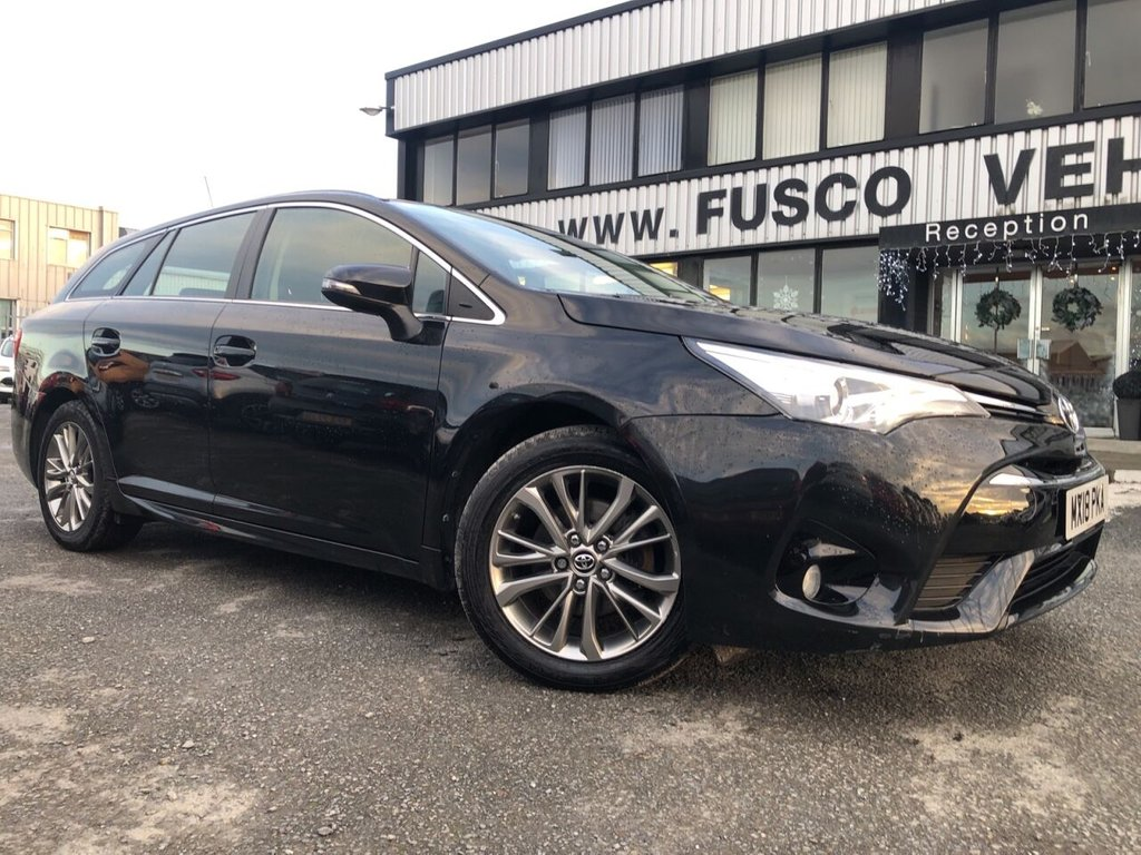 USED 2018 18 TOYOTA AVENSIS 1.6 D-4D BUSINESS EDITION 5d 110 BHP £228 a month, T&Cs apply.