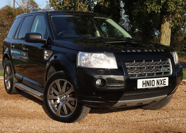 2010 10 LAND ROVER FREELANDER 2.2 TD4 HSE 5d 159 BHP AUTOMATIC
