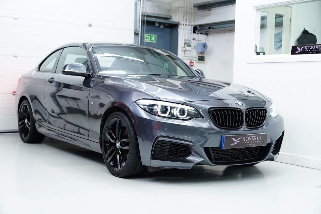 USED 2017 67 BMW 2 SERIES 1.5 218i M Sport Auto (s/s) 2dr +Black M Sport Spoiler & Trim