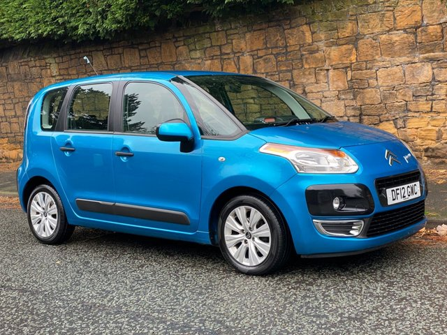 USED 2012 12 CITROEN C3 PICASSO 1.6 PICASSO VTR PLUS HDI  5d 91 BHP
