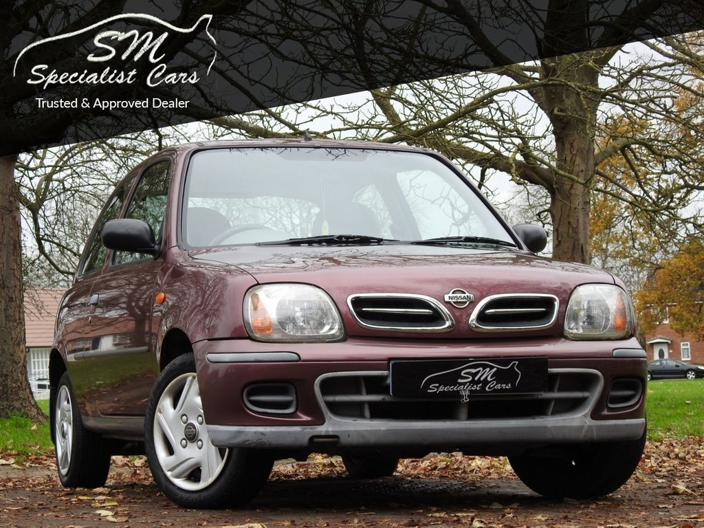 USED 2001 51 NISSAN MICRA 1.0 S 3d 59 BHP ONLY 24K FROM NEW A/C FSH VGC