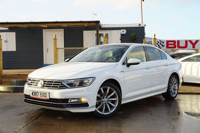 USED 2017 17 VOLKSWAGEN PASSAT 2.0 R LINE TDI BLUEMOTION TECHNOLOGY DSG 4d 188 BHP GREAT SPEC, FANTASTIC EXAMPLE