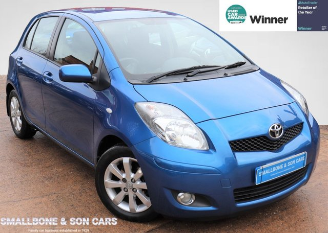 USED 2011 11 TOYOTA YARIS 1.3 T SPIRIT VVT-I  5d 99 BHP * BUY ONLINE * FREE NATIONWIDE DELIVERY *