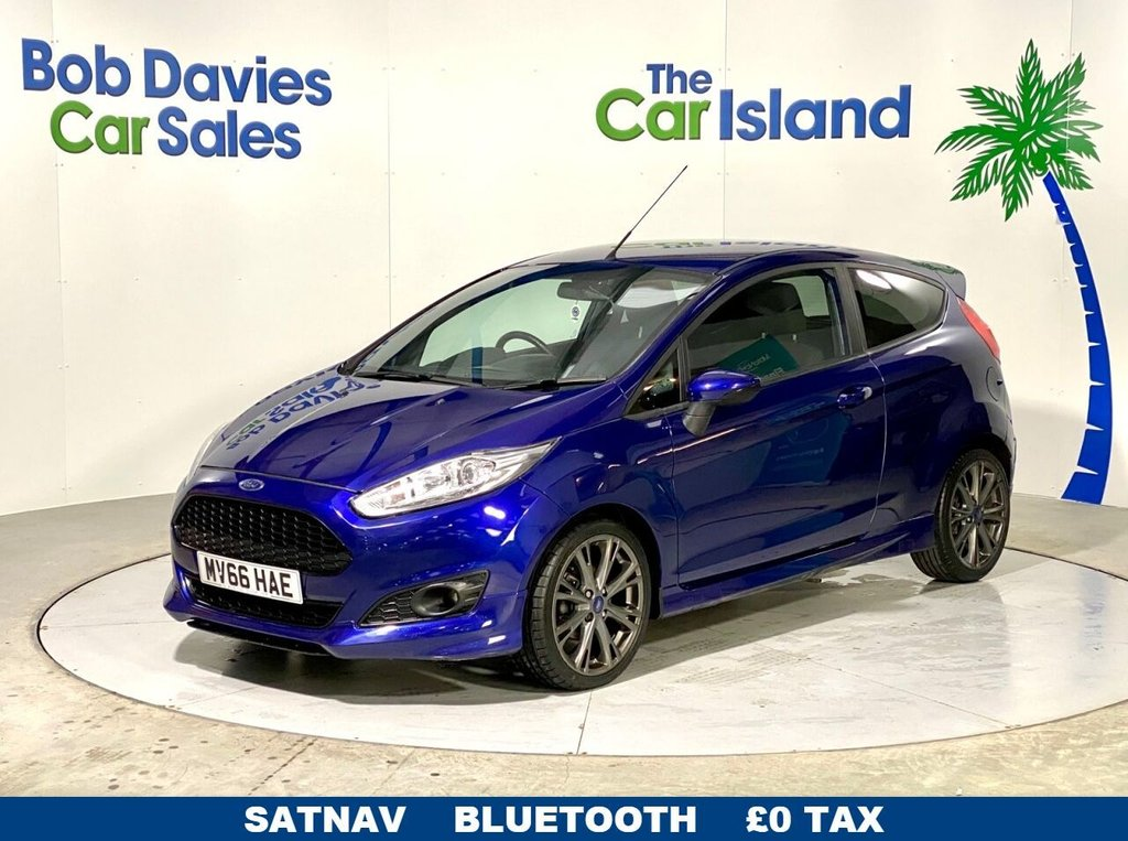 USED 2016 66 FORD FIESTA 1.0 ST-LINE 3d 124 BHP Grey Alloys, Rear Spoiler only 40K miles Privacy Glass