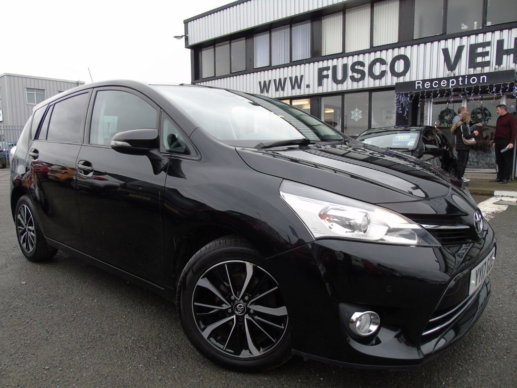 USED 2017 17 TOYOTA VERSO 1.6 VALVEMATIC DESIGN 5d 131 BHP £250 a month, T&Cs apply.