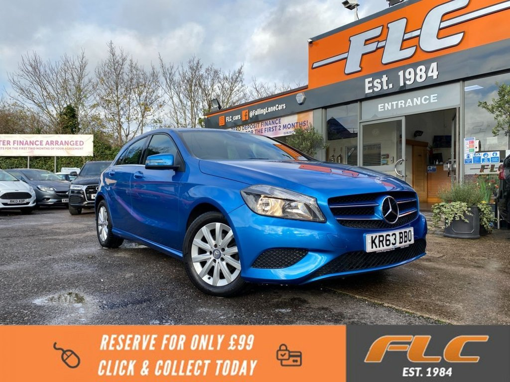USED 2013 63 MERCEDES-BENZ A-CLASS 1.8 A180 CDI BLUEEFFICIENCY SE 5d 109 BHP