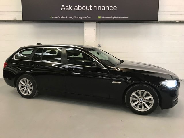 USED 2016 16 BMW 5 SERIES 2.0 520D SE TOURING 5d 188 BHP