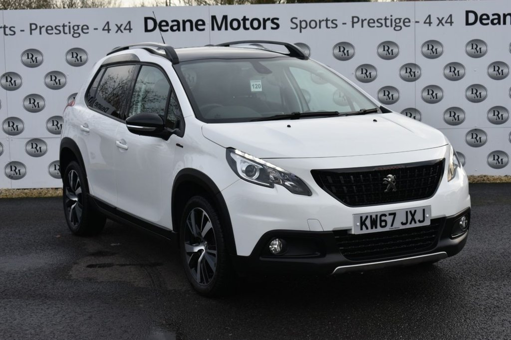 USED 2018 67 PEUGEOT 2008 1.6 BLUE HDI S/S GT LINE 5d 120 BHP PANROOF