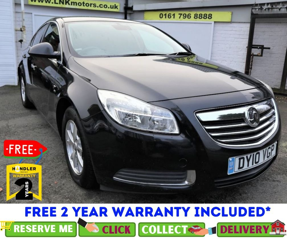 USED 2010 10 VAUXHALL INSIGNIA 2.0 SE NAV CDTI ECOFLEX 5d 157 BHP *CLICK & COLLECT OR DELIVERY