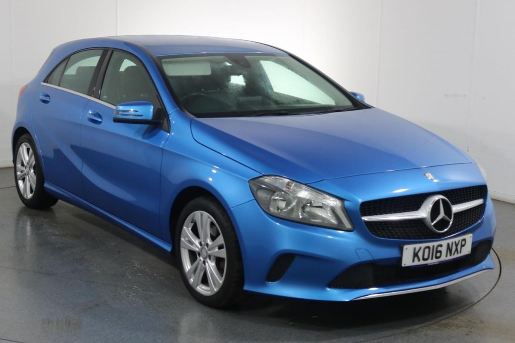 USED 2016 11 MERCEDES-BENZ A-CLASS 1.6 A 180 SPORT AUTO 5d 121 BHP Demo and ONE OWNER with SERVICE HISTORY