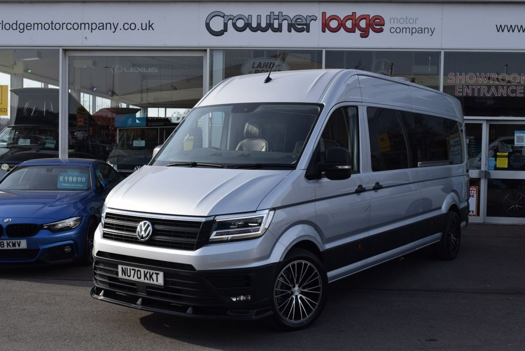 USED 2020 70 VOLKSWAGEN CRAFTER 2.0 CR35 TDI L H/R P/V TRENDLINE CAMPER 138 BHP FINANCE TODAY WITH NO DEPOSIT - BRAND NEW CONVERSION - DELIVERY MILEAGE
