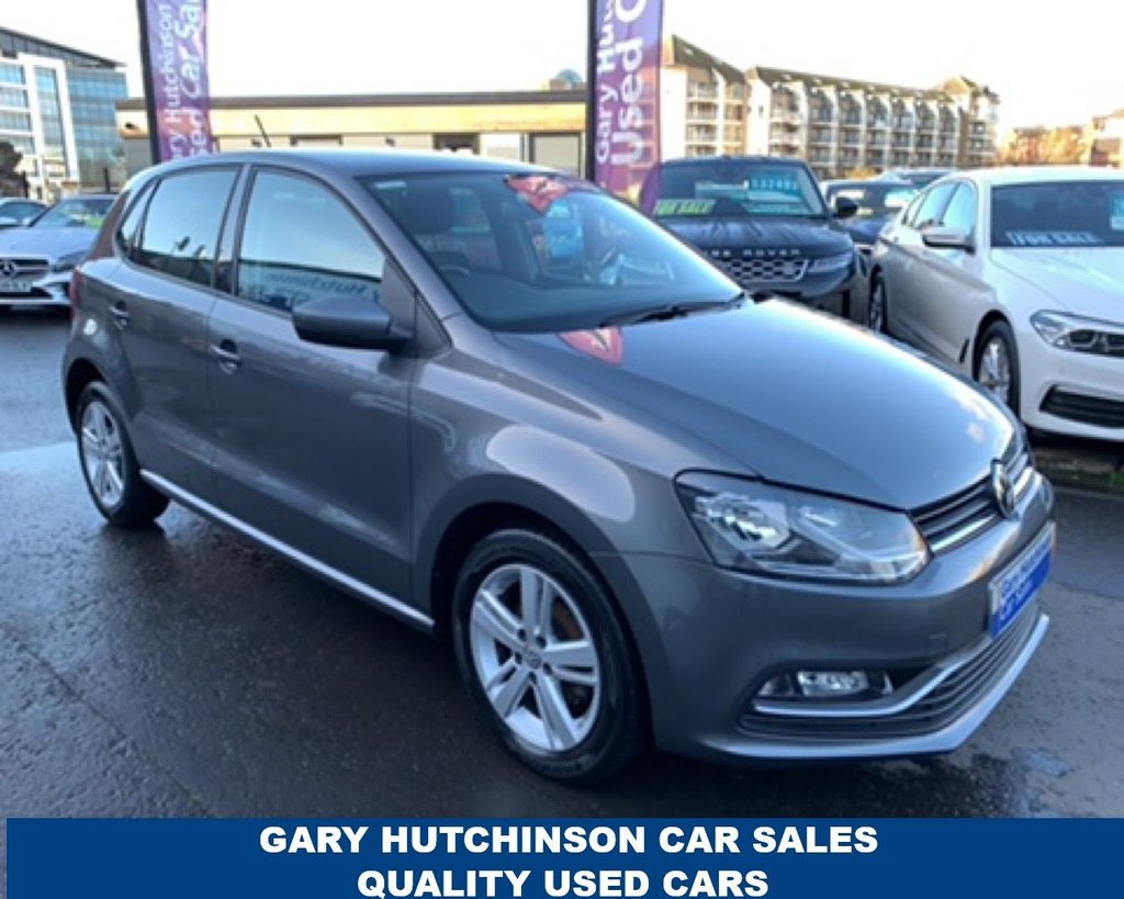 USED 2017 VOLKSWAGEN POLO 1.4 MATCH EDITION TDI 5d 74 BHP