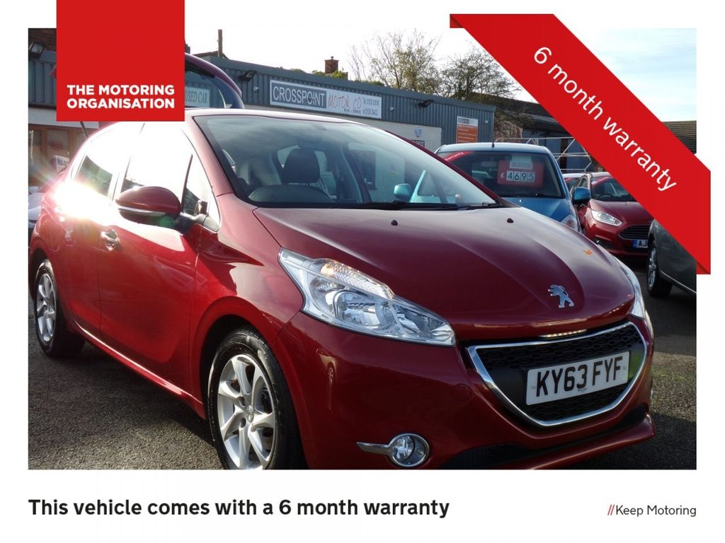 USED 2013 63 PEUGEOT 208 1.6 E-HDI ACTIVE FAP 5d 92 BHP