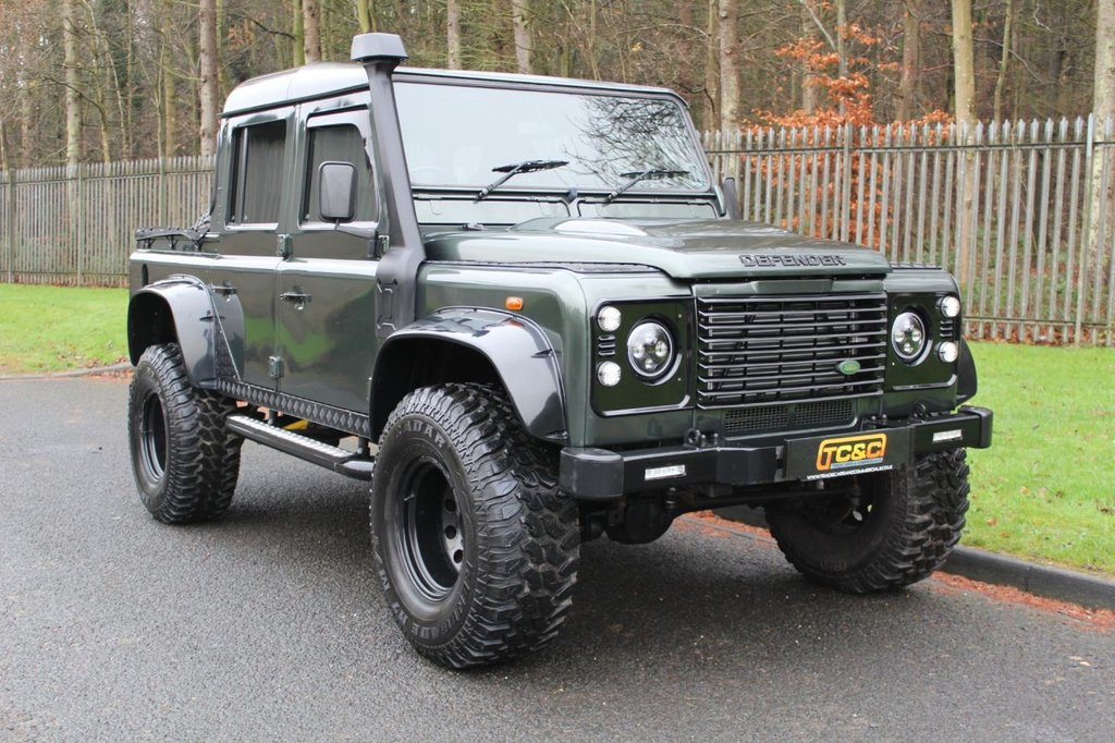 USED 2001 51 LAND ROVER DEFENDER 2.5 110 TD5 COUNTY DOUBLE CAB LWB 4d 120 BHP A STUNNING LOOKING DEFENDER WITH LOADS OF UPGRADES!!!