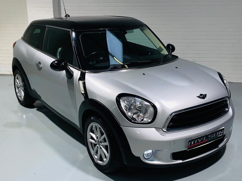 USED 2015 65 MINI MINI PACEMAN 1.6 COOPER D 3d 111 BHP Glass Panoramic Roof, Black Leather Interior, Heated Seats, Privacy Glass
