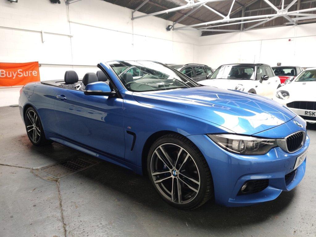 USED 2017 17 BMW 4 SERIES 2.0 420I M SPORT 2d