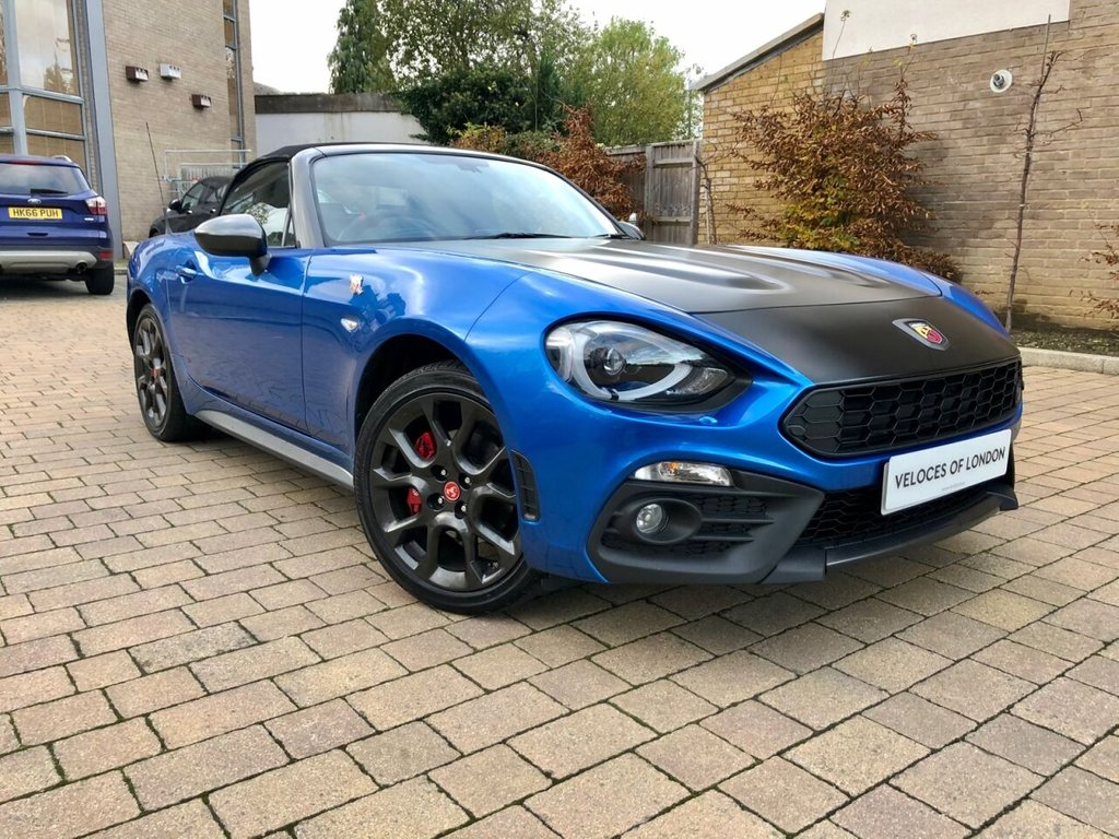 USED 2017 17 ABARTH 124 1.4 SPIDER MULTIAIR 2d 168 BHP OVER £3000 OF FACTORY EXTRAS