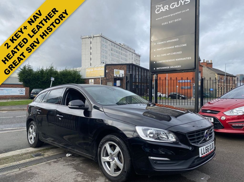 USED 2016 66 VOLVO V60 2.0 D3 BUSINESS EDITION 5d 148 BHP